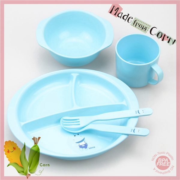 Eco Friendly Babies Bowl and Plate Set