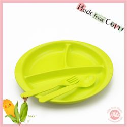 Eco Friendly Safety Baby Dinnerware Meal Set