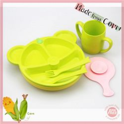 BPA Free Baby Meal Set Made from Corn