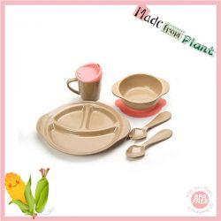 rice husk non-toxic dinnerware set